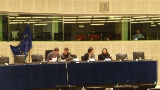 Comparecencia de AMARC en el Parlamento Europeo